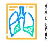 complications or pneumonia... | Shutterstock .eps vector #1916884982