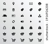 web ui icon set  symbol and...