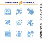 covid19 corona virus... | Shutterstock .eps vector #1916944118