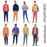 men characters. male people... | Shutterstock .eps vector #1916951852