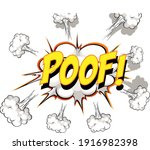 comic speech bubble with poof...   Shutterstock .eps vector #1916982398