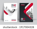 geometric corporate book cover... | Shutterstock .eps vector #1917004328