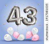 elegant greeting celebration... | Shutterstock .eps vector #1917081035