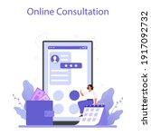 employee benefits package... | Shutterstock .eps vector #1917092732