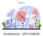 surgeon concept. doctor...   Shutterstock .eps vector #1917138635