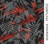 abstract seamless arrow pattern.... | Shutterstock .eps vector #1917140912