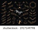 botanical magic flower decor...   Shutterstock .eps vector #1917149798