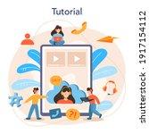 technical support online...   Shutterstock .eps vector #1917154112