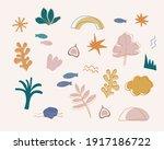 vector abstract pattern  in... | Shutterstock .eps vector #1917186722