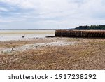 The Harbour Of Cancale At Low...