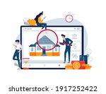 home appraisal process vector... | Shutterstock .eps vector #1917252422
