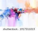 Abstract Multicolor Painting...