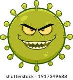 coronavirus  covid 19  cartoon... | Shutterstock .eps vector #1917349688