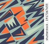 seamless abstract urban pattern ... | Shutterstock .eps vector #1917367655