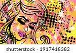 colourful modern vector...   Shutterstock .eps vector #1917418382