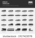 car type and model objects... | Shutterstock .eps vector #1917423578