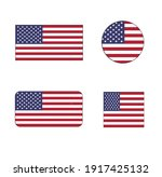 united states vector flag icon... | Shutterstock .eps vector #1917425132