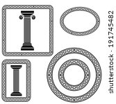 Colonna romana clip art vettore colonna romana 57 for Design architettonico gratuito