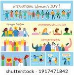 international women's day...   Shutterstock .eps vector #1917471842