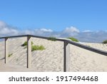 Landscape Of The Dunes On The...
