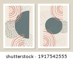 a trendy set of abstract...   Shutterstock .eps vector #1917542555