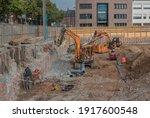 frankfurt am main  germany...   Shutterstock . vector #1917600548
