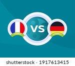 france vs germany euro 2020... | Shutterstock .eps vector #1917613415