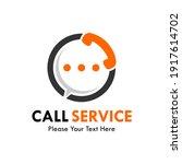 call service logo template... | Shutterstock .eps vector #1917614702