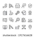 check testing examination tick...   Shutterstock .eps vector #1917616628