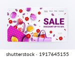 happy easter holiday... | Shutterstock .eps vector #1917645155