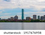 Boston Back Bay Modern City...