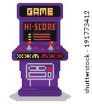 8,alien,arcade,art,background,bit,blue,button,byte,cabinet,cartoon,childhood,claw,coin,comic