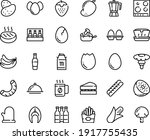 food line icon set   french... | Shutterstock .eps vector #1917755435
