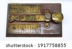 A Brass Telegram Used For...