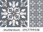 portuguese and spain decor.... | Shutterstock .eps vector #1917799538