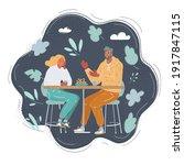 cartoon vector illustration of... | Shutterstock .eps vector #1917847115