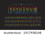 lgbtq   pride rainbow colors...   Shutterstock .eps vector #1917958148