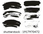round sponge thin artist brush... | Shutterstock .eps vector #1917970472