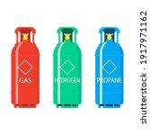 Gas Tank Ballon Hydrogen And...
