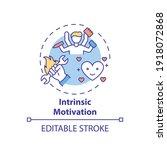 intrinsic motivation concept...   Shutterstock .eps vector #1918072868