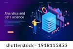 concept of data research ... | Shutterstock .eps vector #1918115855