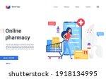 online pharmacy service ...   Shutterstock .eps vector #1918134995