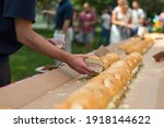 Six Foot Subs At A Party