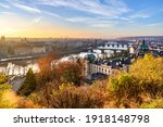 Prague Bridges Over Vltava...