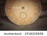 vintage grunge background of an ... | Shutterstock . vector #1918205858