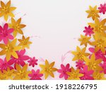 spring background with flower....   Shutterstock .eps vector #1918226795