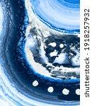 abstract art painting  blue...   Shutterstock . vector #1918257932