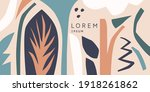 a composition of graphic...   Shutterstock .eps vector #1918261862