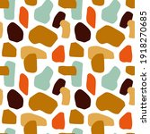 abstract flat terrazzo shapes...   Shutterstock .eps vector #1918270685