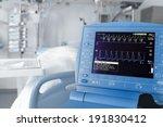 icu room and cardiovascular... | Shutterstock . vector #191830412